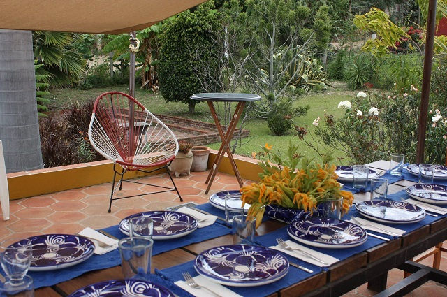 table with view of garden resized